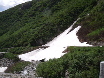 Auffahrt zum Gotthard durch das Val Tremola