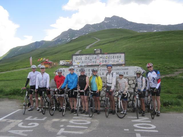 Rennrad-Rundreise durch die Savoyer Alpen - vom  16. bis 23. Juli 2016