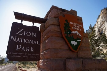 Grenze des Nationalparks