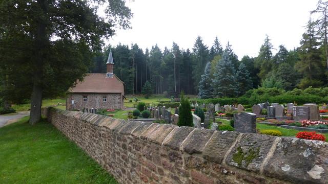 Friedhof auf der Sensbacher Höhe