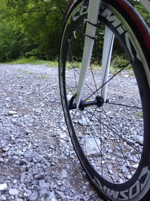 Nein wir sind nicht auf einer Mountainbike Tour.