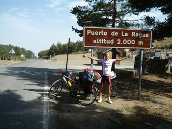 Cycling above 2000m for the 238th times.