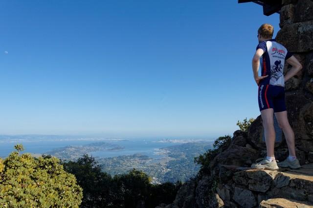 Auf dem Gipfel.