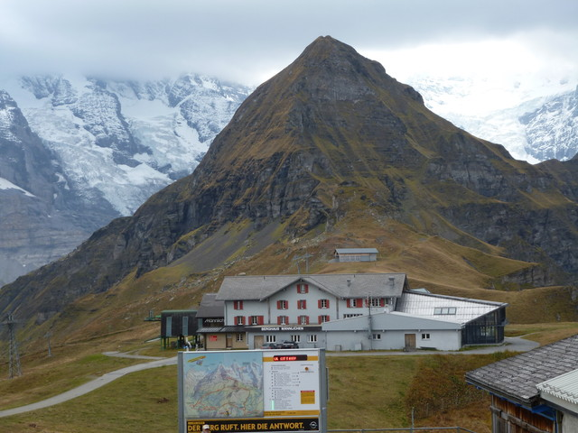 Tag 2 Männlichen Bergstation