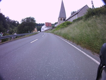 Süd-Ostauffahrt Schwarzenstein