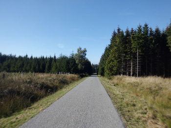 Imgenbroicher Venn in Richtung deutsche Grenze bei Konzen-Entenpfuhl