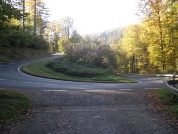 Waldaschaff-Auffahrt: die schönste Kurve