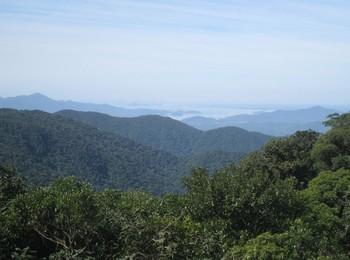4 - Bucht von Paranaguá - Aussicht vom oberen Parkplatz