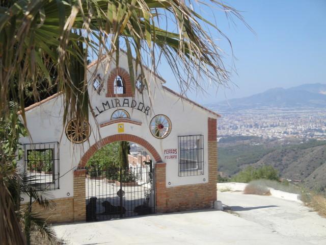 87. Puerto del Leon bei Malaga Sommerurlaub  9.-21.6.2014 . Toller Ausblick vom Mirador!