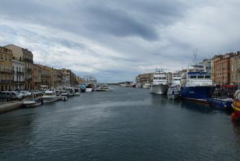 Canal de Sète Fischerhafen.