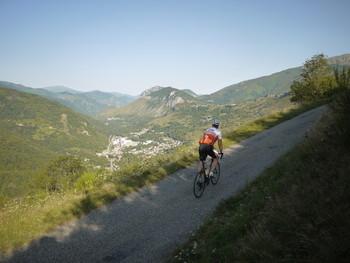 Über dem Tal der Ariège.