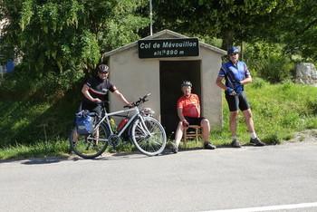 Col de Mévouillon: bequemer geht ein Passbild kaum.
