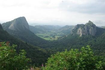 Blick vom Col de Guéry Richtung Rochefort-Montagne