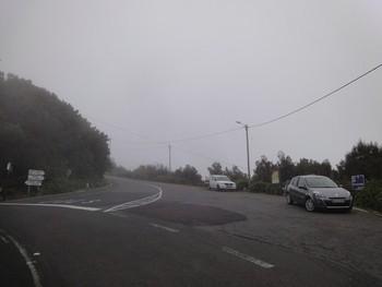Passhöhe - Abzweig zur Paul da Serra