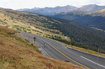 Südwestauffahrt von Grand Lake, die letzten Kilometer