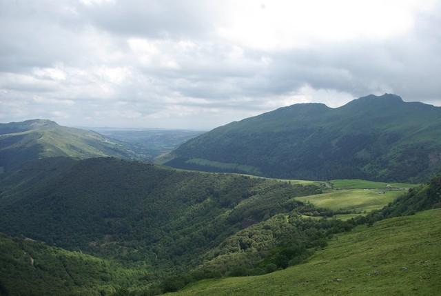 Blick über den Col de Serre Richtung Dienne