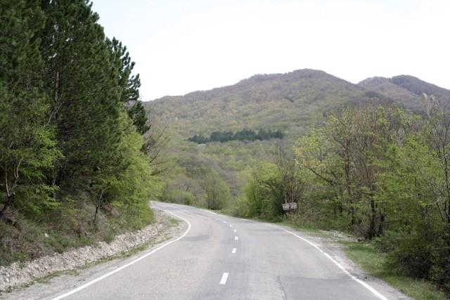Tbilisi - Tianeti Highway