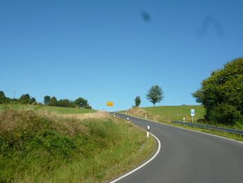 Ortsausgang Kerbersdorf.