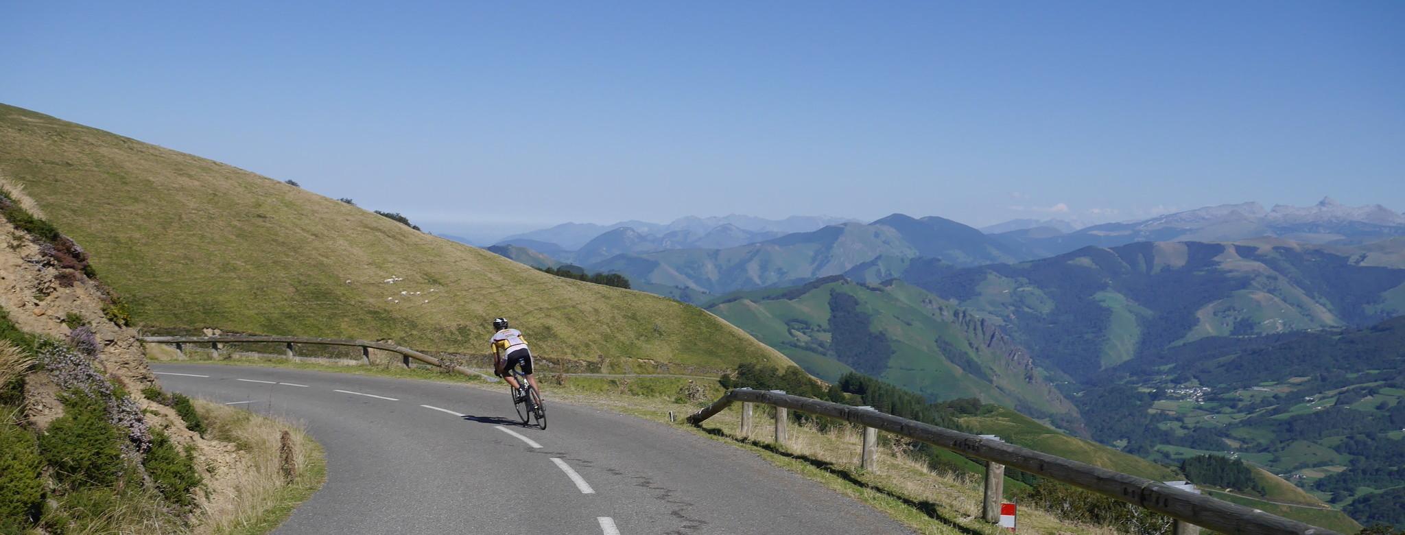 Durch die wilden Pyrenäen...