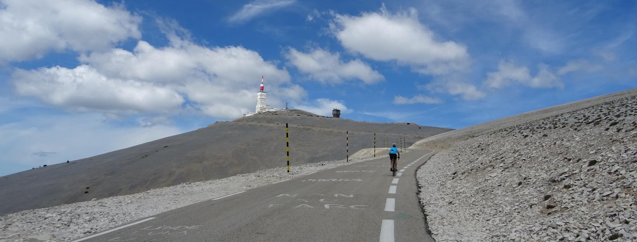 Bezwinge den Mont Ventoux!
