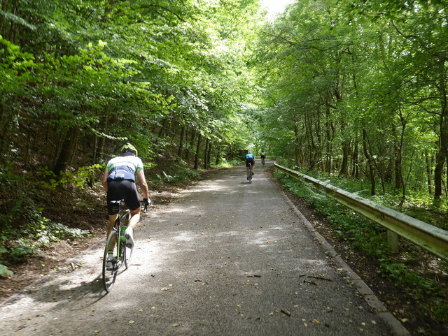 Trainingswochenende in den Ardennen (Eupen) - from 2nd to 5th May 2019