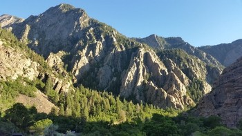 Noch im Big Cottonwood Canyon.