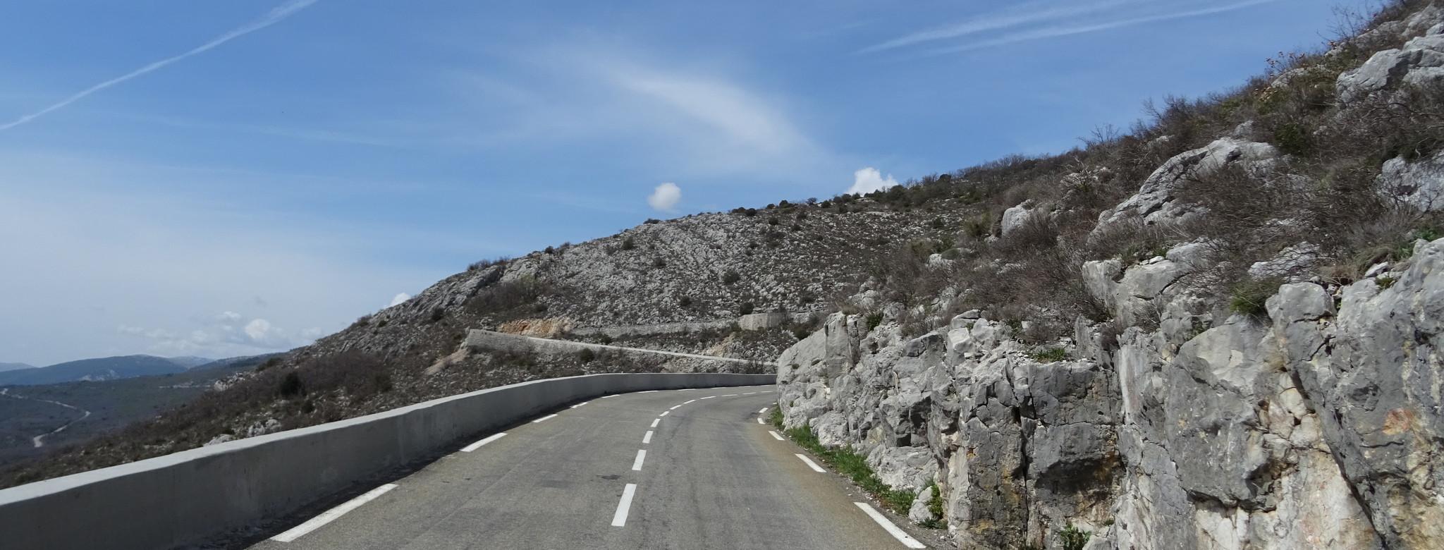 ... bis in die Alpen der Provence.