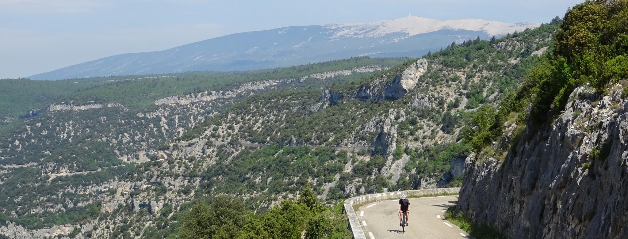 ... in den Schluchten der Provence...