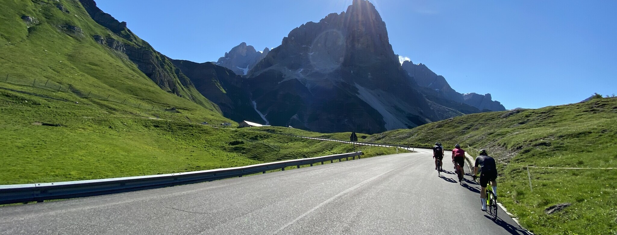 relaxed durch die Dolomiten