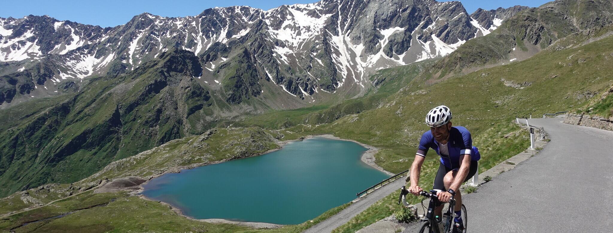 idyllische Alpenpässe