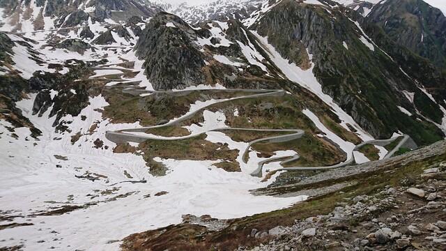 Bild St. Gotthardpass